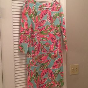 "Lilly Pulitzer Charlene ""In the Vias"" print dress"
